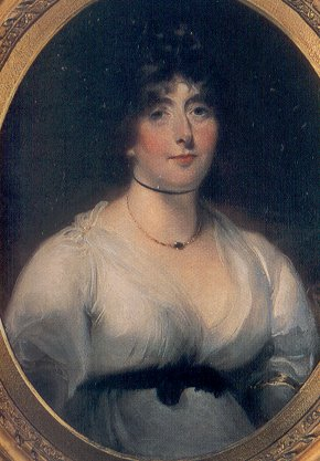 portrait of Lady Melbourne