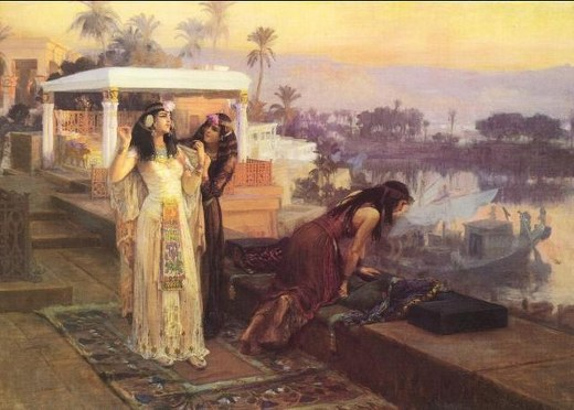 Cleopatra on the terraces of Philae Frederick Arthur Bridgman 1847-1928