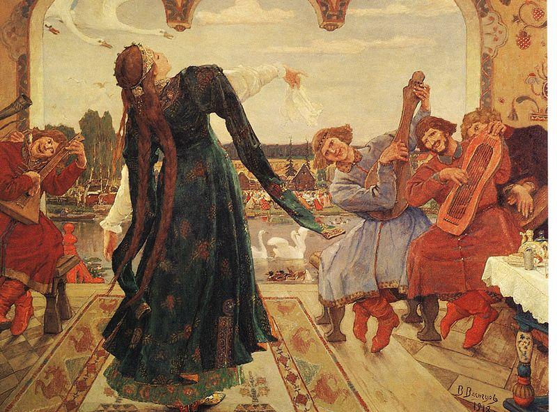 В. Васнецов. Царевна-лягушка. 1918