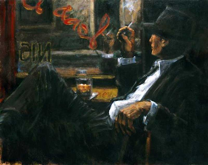 Fabian Perez. [Whiskey] At Las Brujas Ii