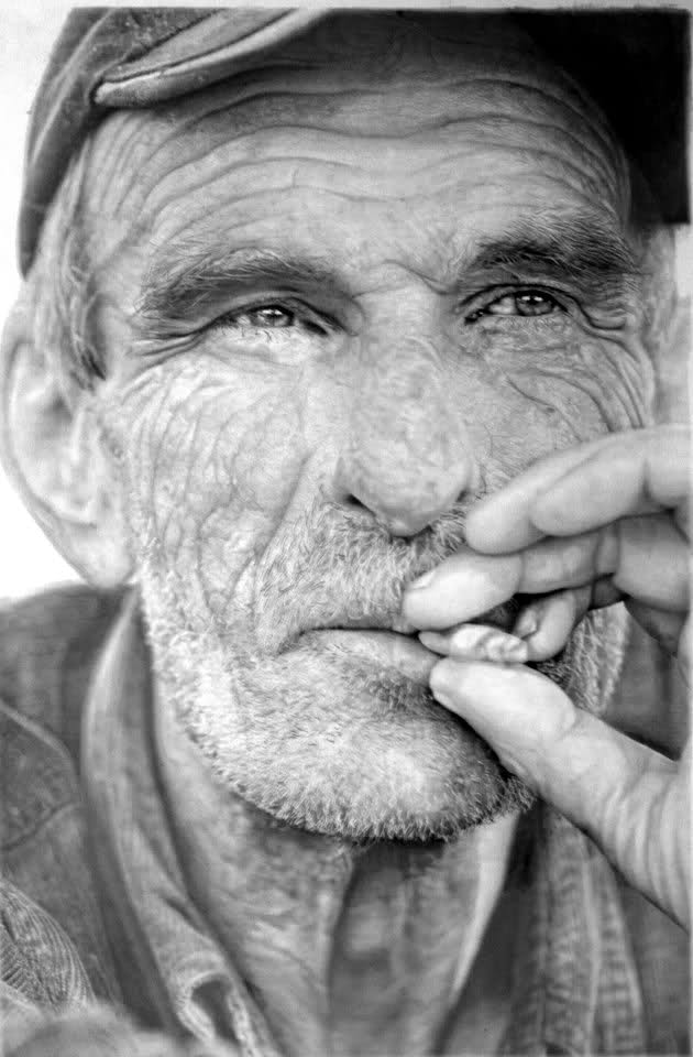 Hyper Realistic Drawing By Paul Cadden