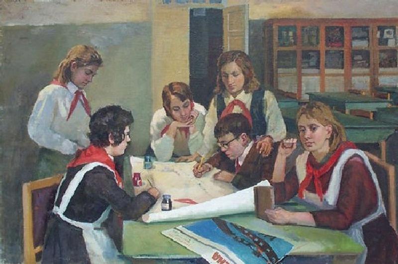 Картинки советская школа, крещению января открытки