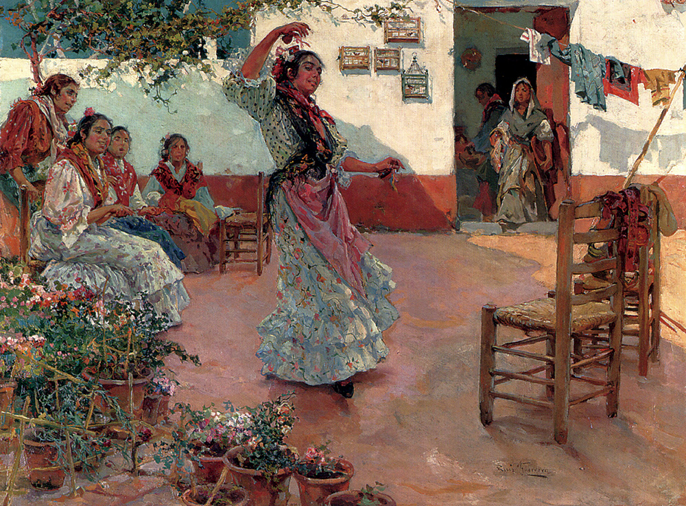 Guerrero Manuel Ruiz The Flamenco Dance