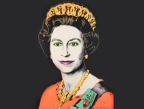Queen Elizabeth II Andy Warhol