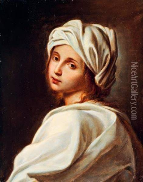 Beatrice Cenci Portreja oil painting reproduction by Guido Reni