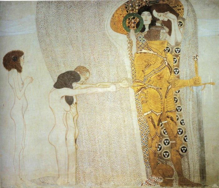 Gustav Klimt, The Beethoven Frieze (1902)