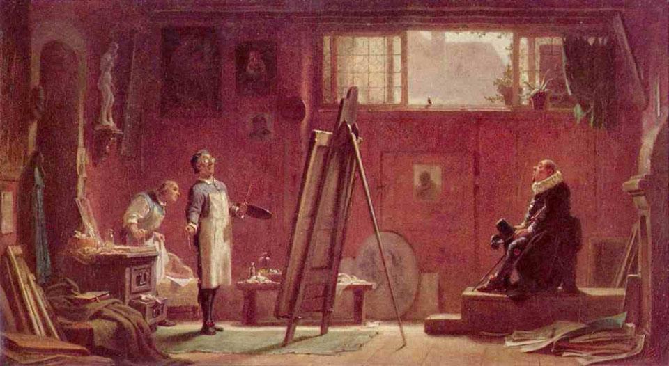 The portrait painter - Карл Шпицвег