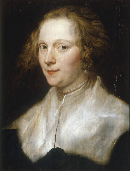 Anthonis van Dyck Portrait of a young woman