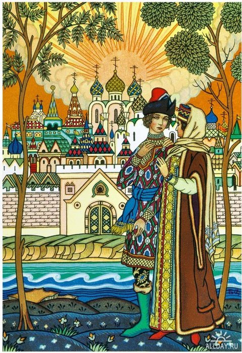 BORIS ZVORYKINE (1872-1942(?)) Skazka-o-tsare-Saltane