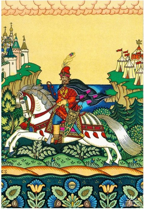 BORIS ZVORYKINE (1872-1942(?)) Skazka-o-tsare-Saltane3
