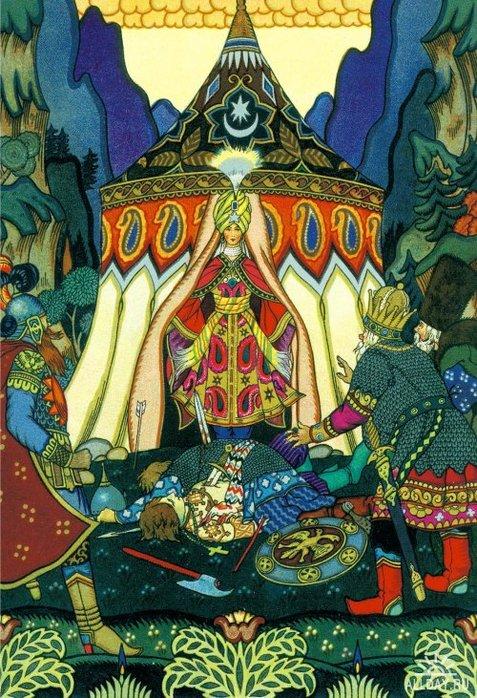 BORIS ZVORYKINE (1872-1942(?)) Skazka-o-zolotom-petushke