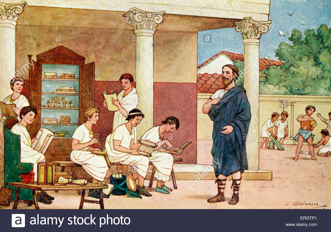 education in rome Education - education in the later roman empire: the dominant fact is the extraordinary continuity of the methods of roman education throughout such a.