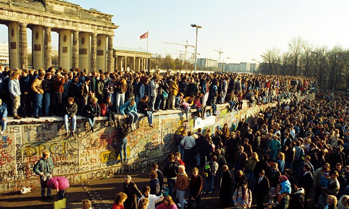 Как и почему пала Берлинская стена