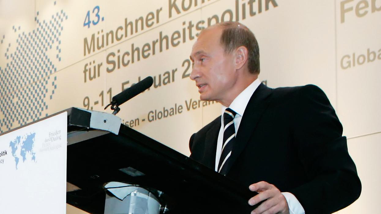 В Германии вспомнили что сказал Путин в 2007 году в Мюнхене